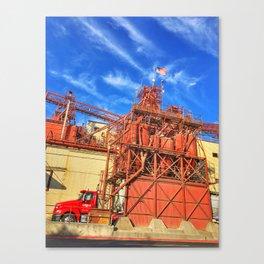 Gilbert's Feed Co. – Oakdale, California, USA Canvas Print