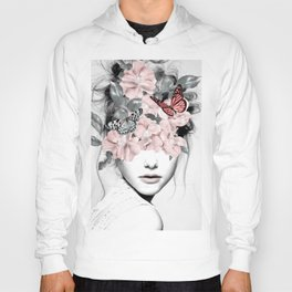 WOMAN WITH FLOWERS 10 Hoody
