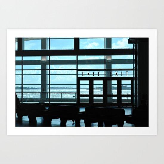 Exits Art Print