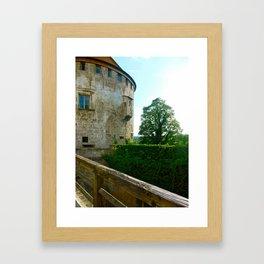 Burghausen  Framed Art Print