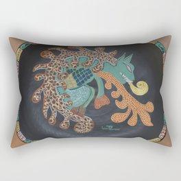 """Aztec (i)"" by ICA PAVON Rectangular Pillow"