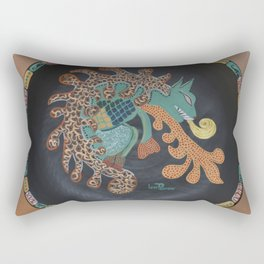 """Aztec (i)"" by ICA PAVON Rectangular Pillow"