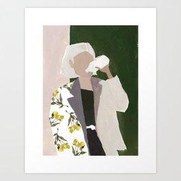 Lemon Jacket Art Print