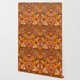 Autumn leaves in abstract Wallpaper