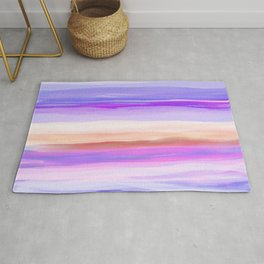New Horizon Shades of Lavender, Peach and Pink Rug