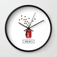 chocolate ad Wall Clock