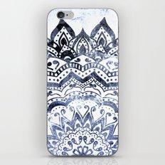 BLUE ORION JEWEL MANDALA iPhone & iPod Skin