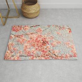 Awesome Blossom (Cherry Blossom / Sakura pattern) Rug