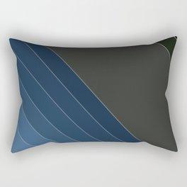 Bands , blue , gray , Rectangular Pillow