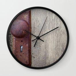 Door Nob Wall Clock