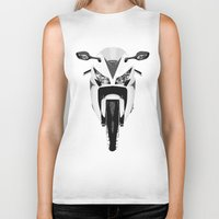 honda Biker Tanks featuring Honda Motorcycle by SABIRO DESIGN