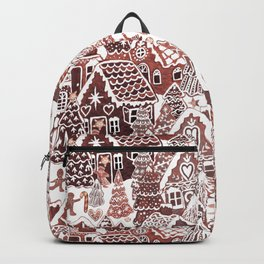 Gingerbread House Christmas village Backpack