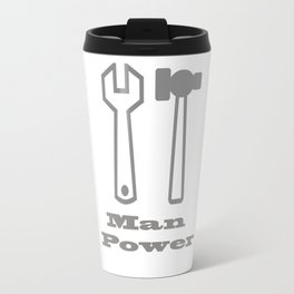 Man Power Travel Mug
