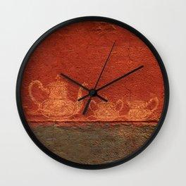 Caipirinha de Café Wall Clock