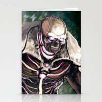 shadow of the colossus Stationery Cards featuring Death Colossus by Stephen Yan