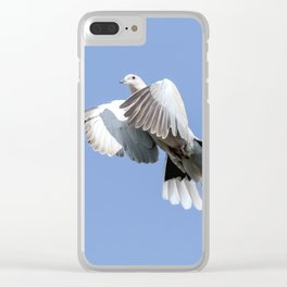 A Lovey Dovey Clear iPhone Case