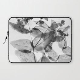 Ghostly Blooms Laptop Sleeve