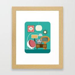 Junkshop Window Framed Art Print