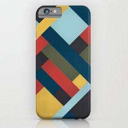 Abstrakt Adventure iPhone Case