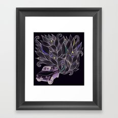 Toot Framed Art Print