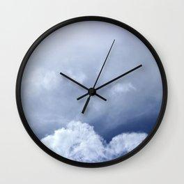 Coração de nuvem Wall Clock