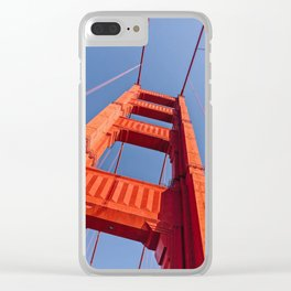 The Golden Gate Will See You Through Clear iPhone Case