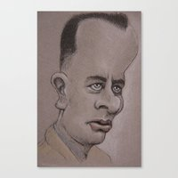 forrest Canvas Prints featuring Forrest by chadizms