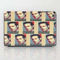 battlestar galactica iPad Cases featuring Baltar 'Messiah' design. Inspired by Battlestar Galactica. by hypergeek