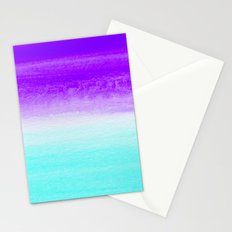 WHEN PURPLE MET BLUE Stationery Cards