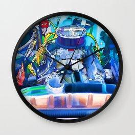 Automotive engine Wall Clock
