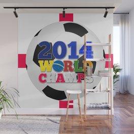 2014 World Champs Ball - England Wall Mural