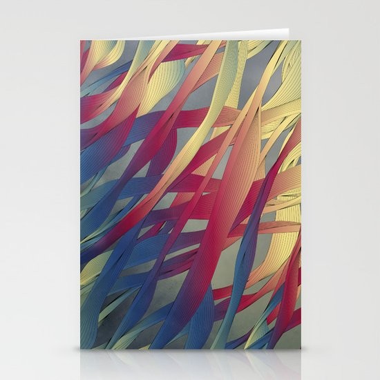 Modern Aquatic Nightsongs Stationery Cards