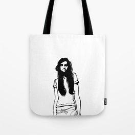 girl girl Tote Bag