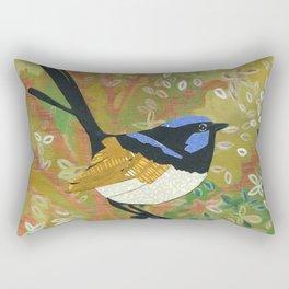 Superb Fairy Wren Rectangular Pillow