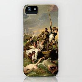 John Singleton Copley's Watson and the Shark iPhone Case
