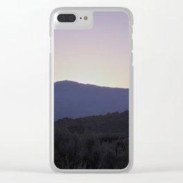 SOLO SUNRISE Clear iPhone Case