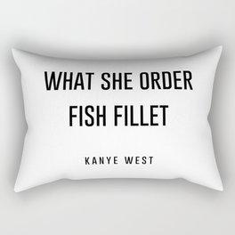 Fish fillet Rectangular Pillow