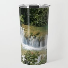 Czech waterfalls Travel Mug
