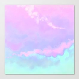 Candy Floss. Canvas Print