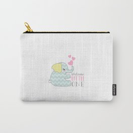 Baby Elephant - Welcome Little One Carry-All Pouch