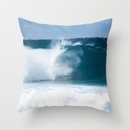 Deep Barrels Throw Pillow