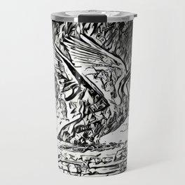 Bird Models: Majestic Swan Travel Mug