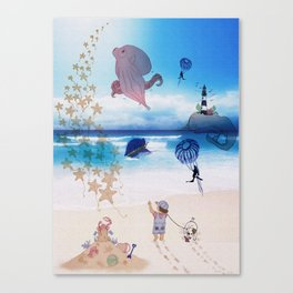 Out of Imagination Canvas Print
