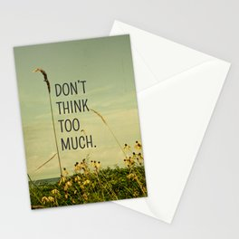 Travel Like A Bird Without a Care Stationery Cards