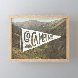 Go Camping Framed Mini Art Print
