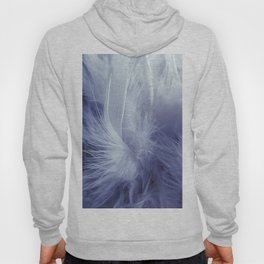 Feather Boa Hoody
