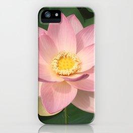 Lotus Pink iPhone Case
