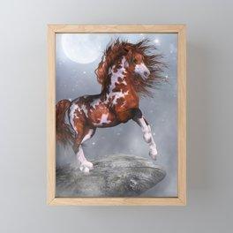 Native Horse Framed Mini Art Print