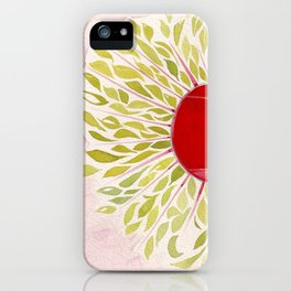 Each Leaf iPhone Case