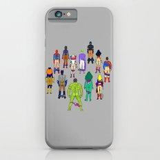 Superhero Power Couple Butts - Grey Slim Case iPhone 6s